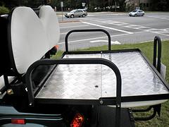 golf cart flip flop seat