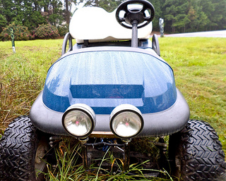 Golf Cart Lights Tips For Adding Or Replacing Halogen Or