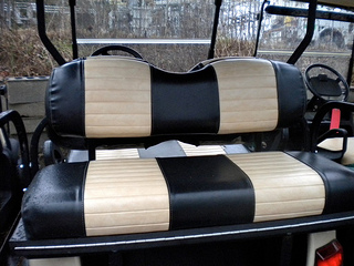 yamaha golf cart rear seat