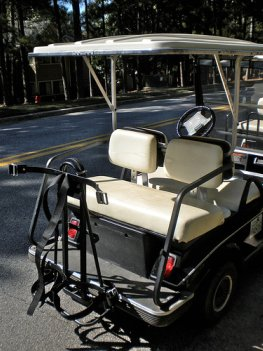 golf cart rear seat kit