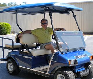 golf cart tops
