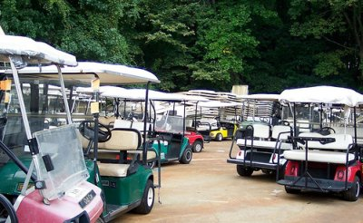used golf cart roof