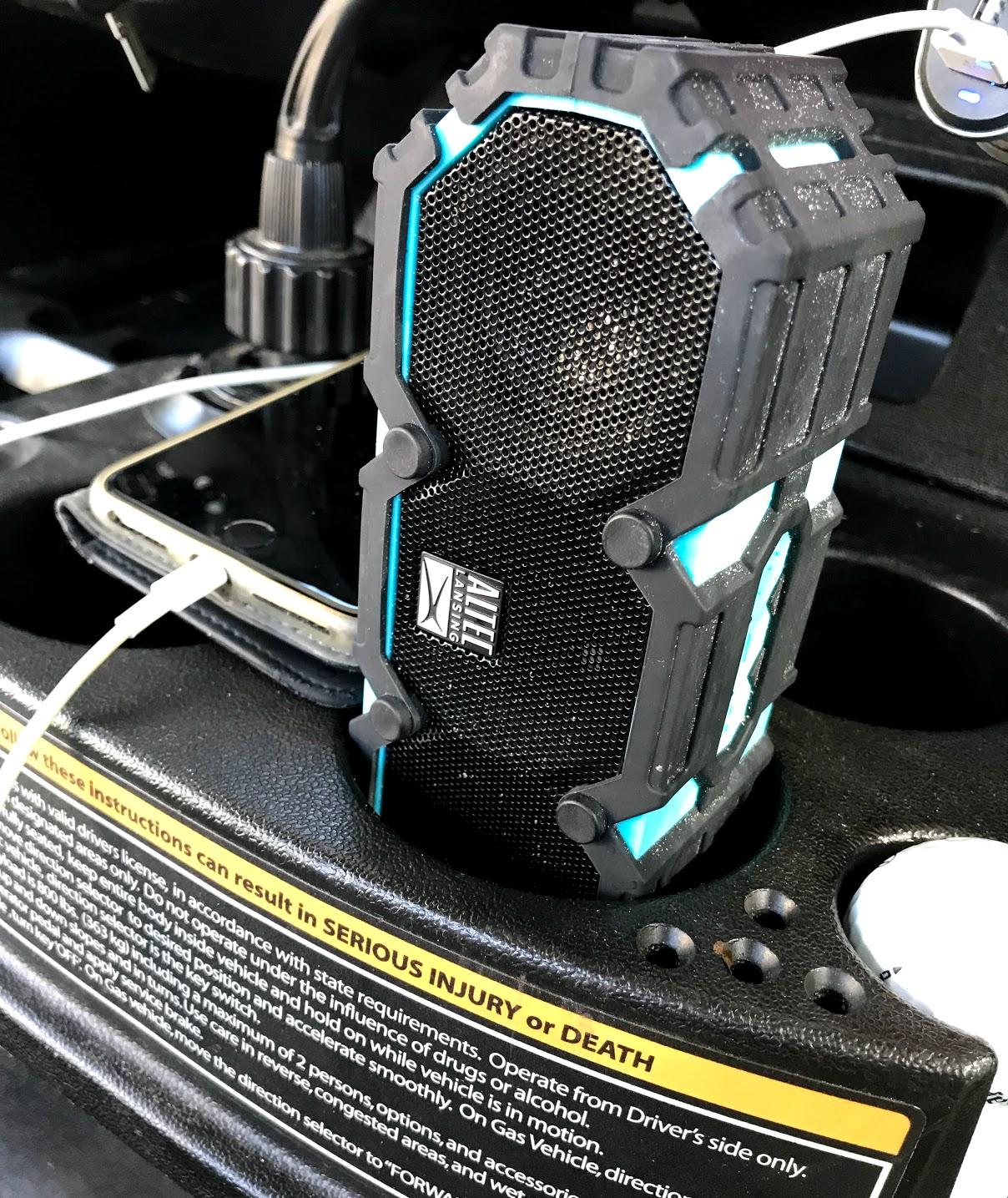 golf cart bluetooth speaker