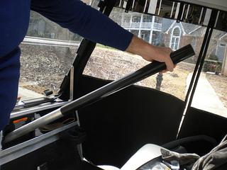 golf cart steering wheel column