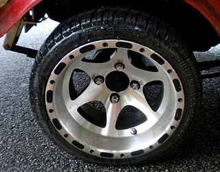 golf cart rims