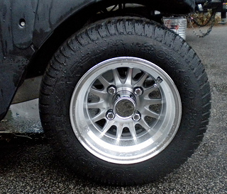 golf cart tires and wheels spokes