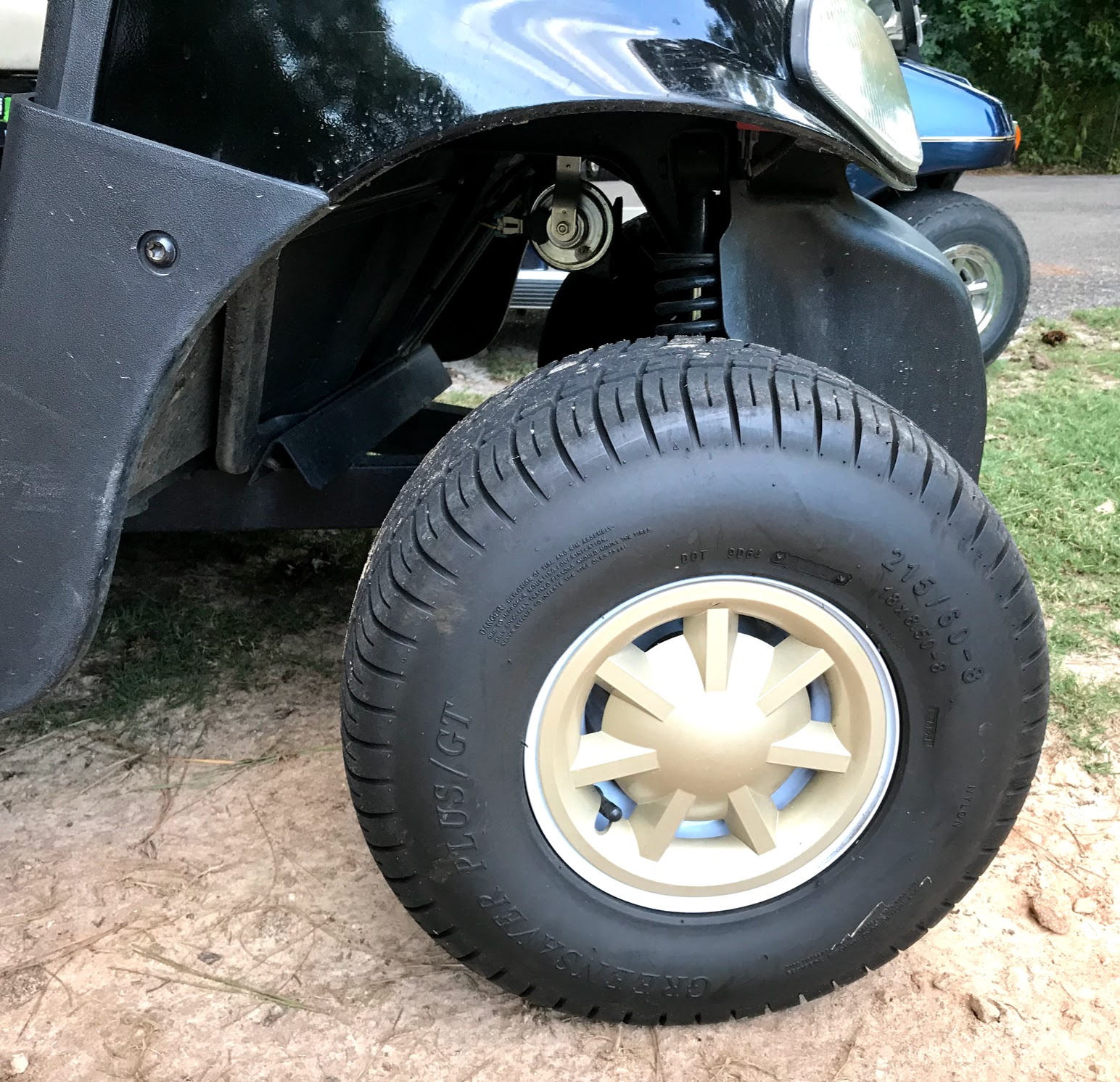 golf cart wheel covers and golf cart hub caps