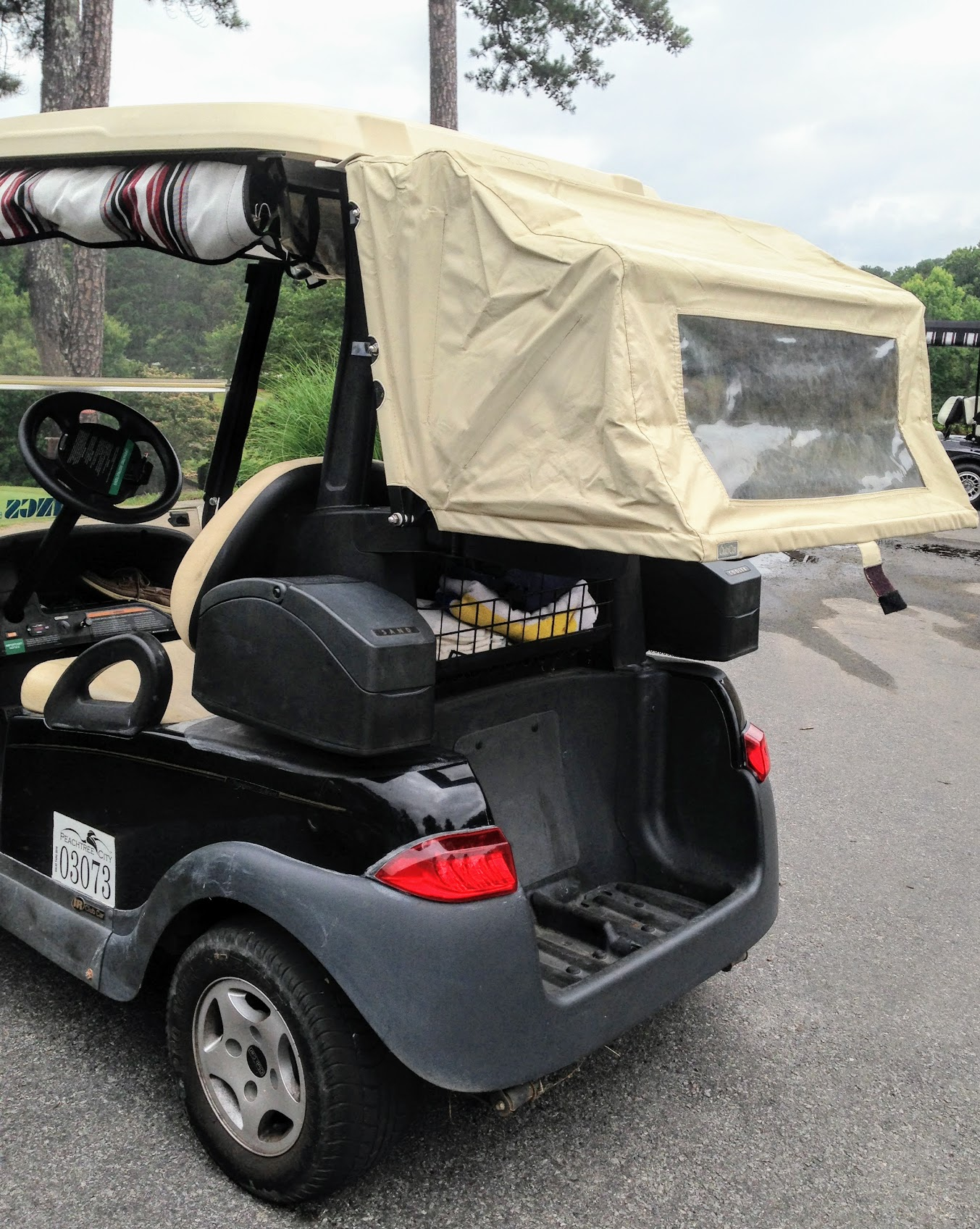 golf cart accessory for Yamaha, Club and EZ Go golf carts