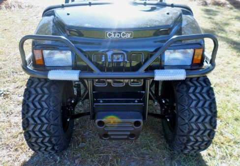 club car ds brush guards