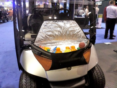Golf Cart Coolers Front Cowl Fender Mount Or Soft Sided Bag