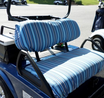 Golf Cart Seat Cover Styles Fabrics Custom Or Do It