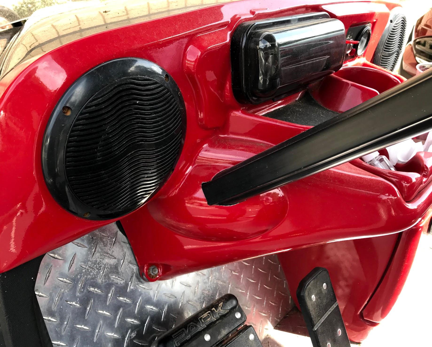golf cart radio and speakers