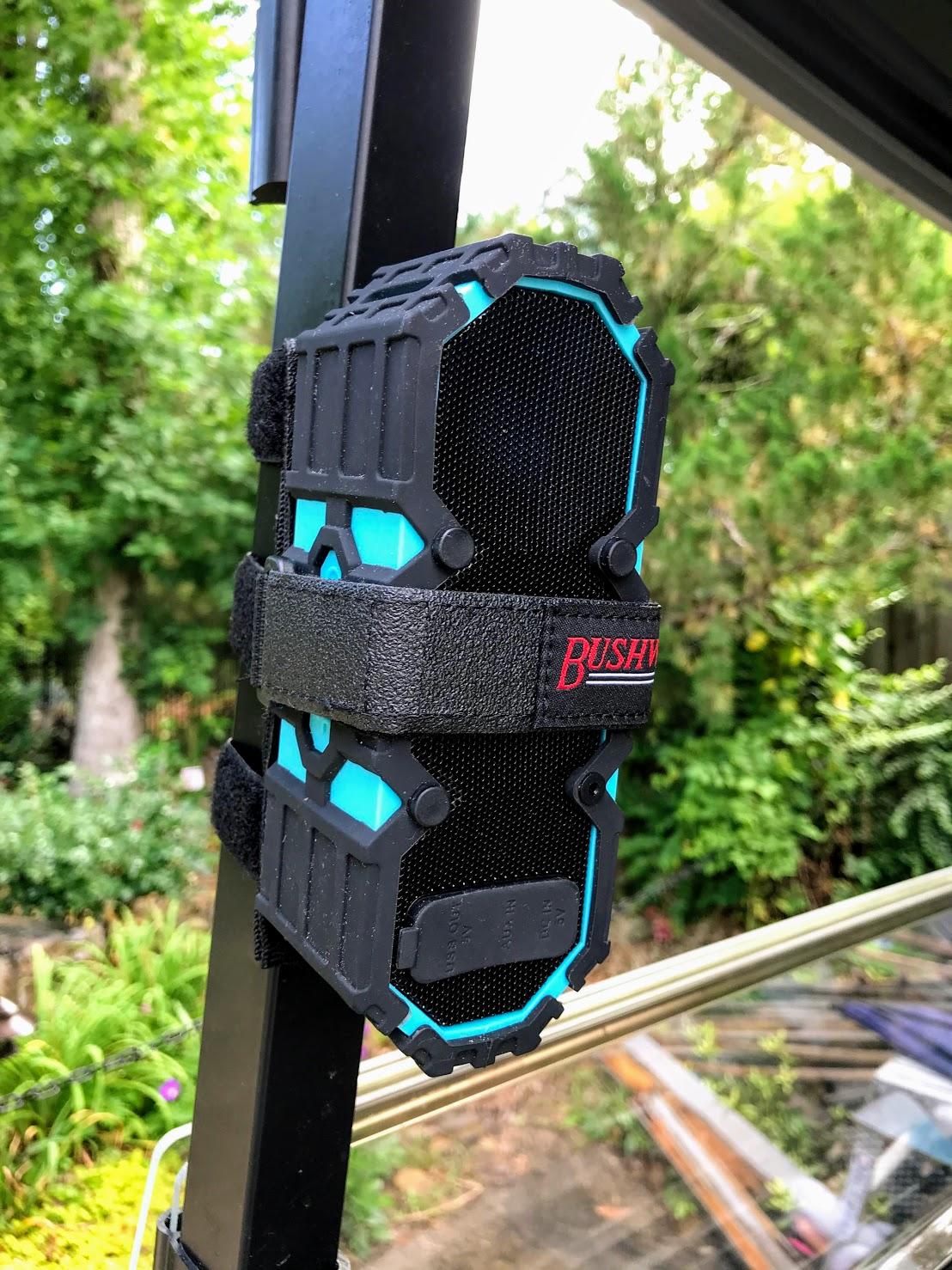golf cart bluetooth speaker mount