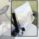 golf cart windshield clips