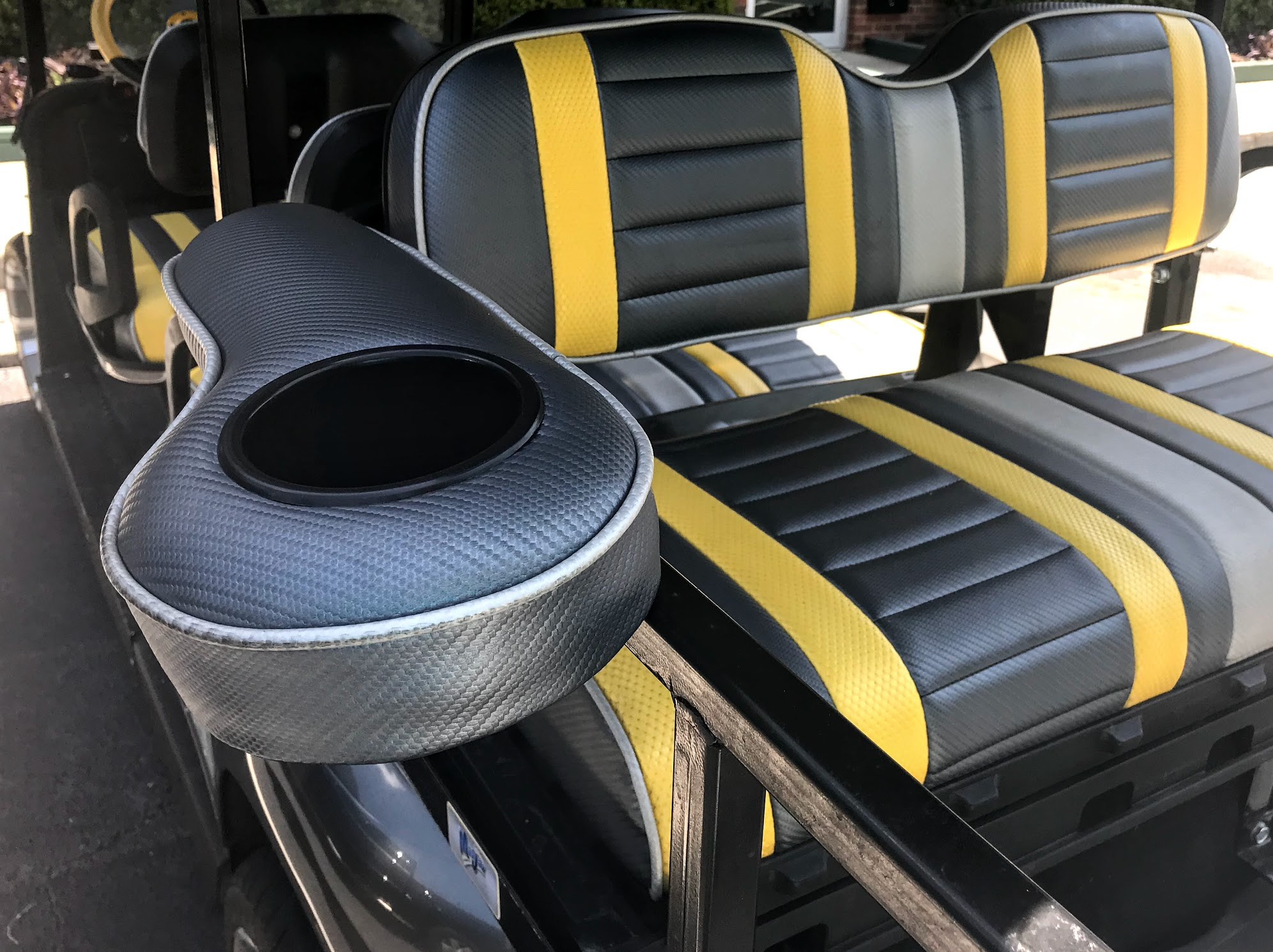 golf cart seat covers with golf cart arm rests