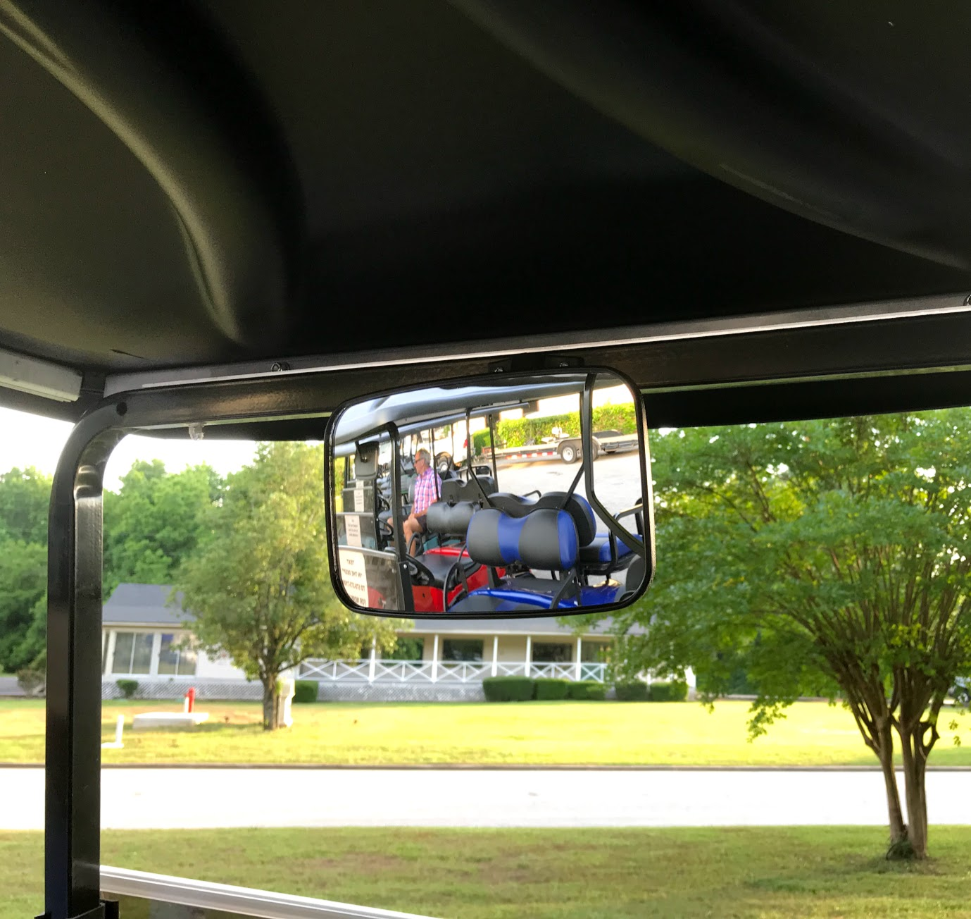 golf cart mirror