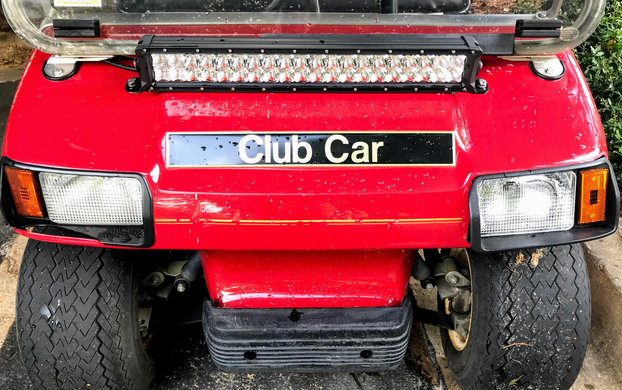 golf cart light bar