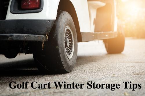 golf cart winter storage tips