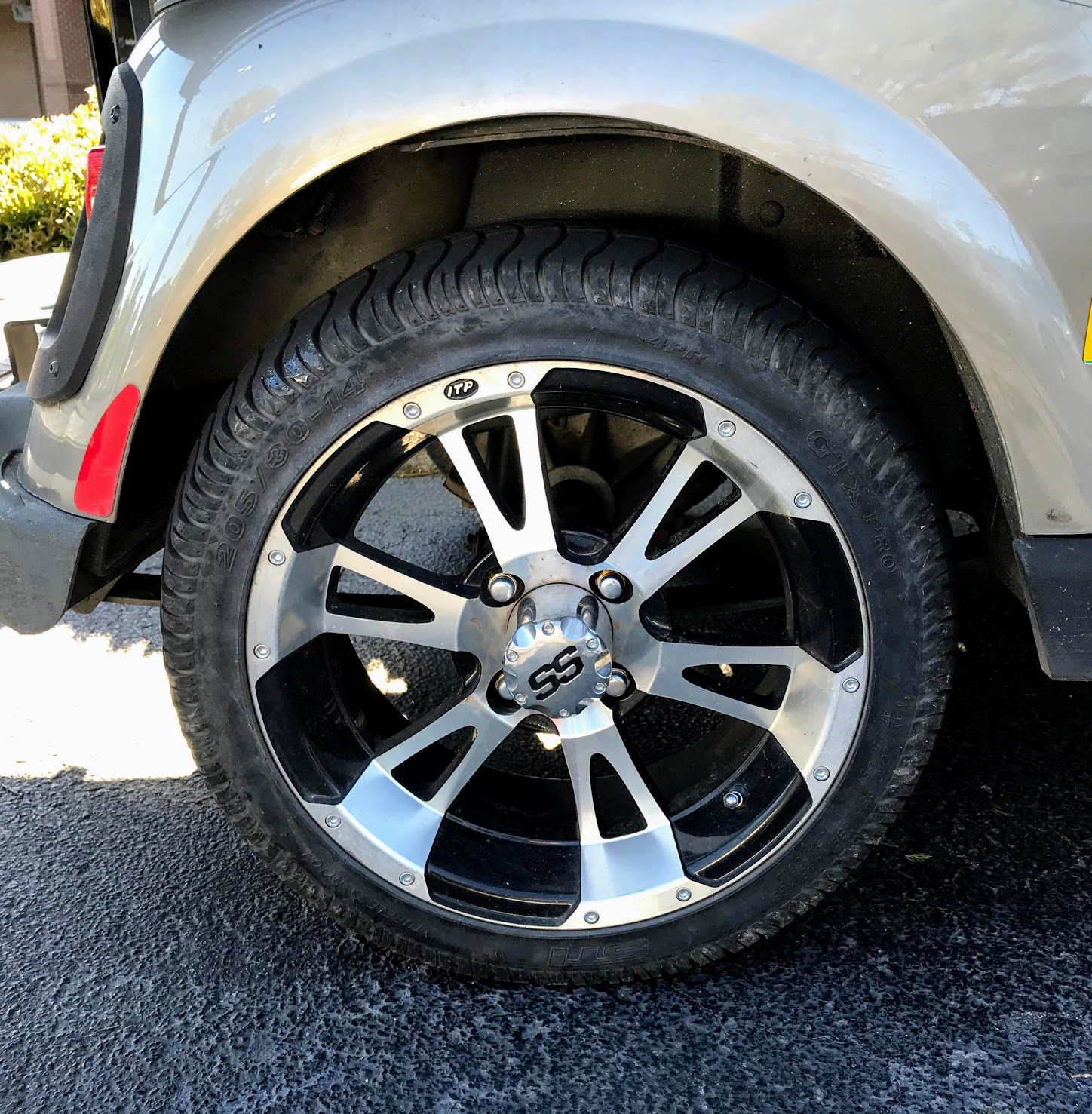 golf cart wheels and tires