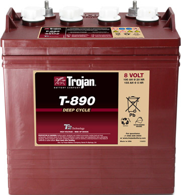 trojan batteries golf cart