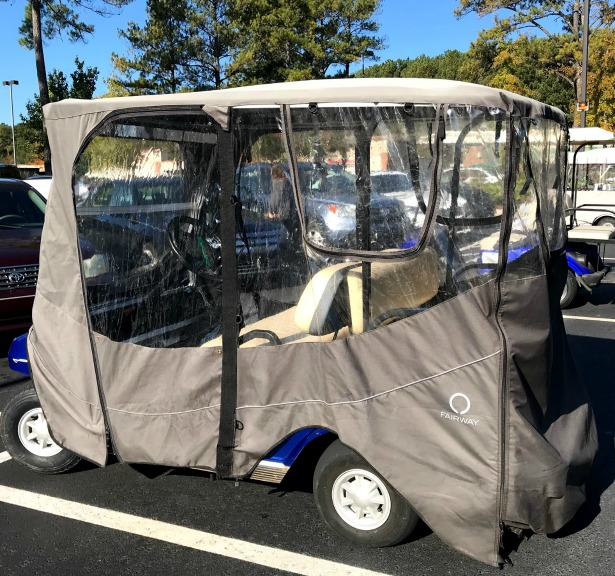 club car golf cart enclosure