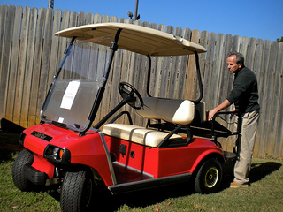 used club car golf cart