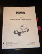 1985 club car service manual