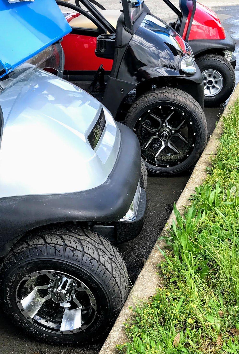 golf cart tire sizes