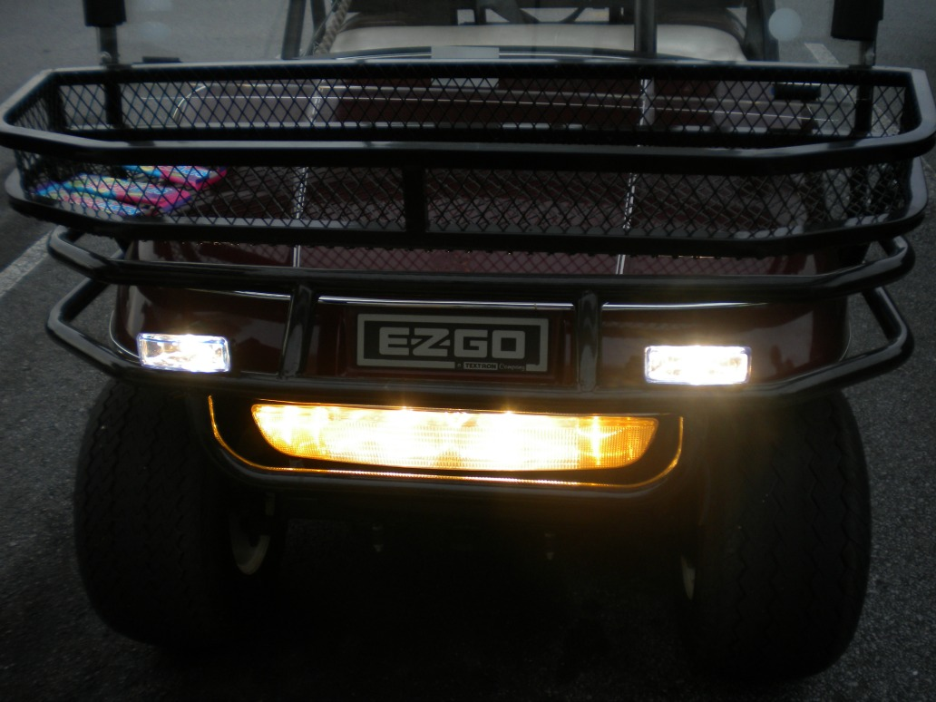 golf cart lights