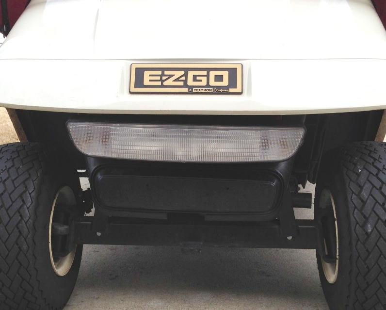 ez go electric golf cart