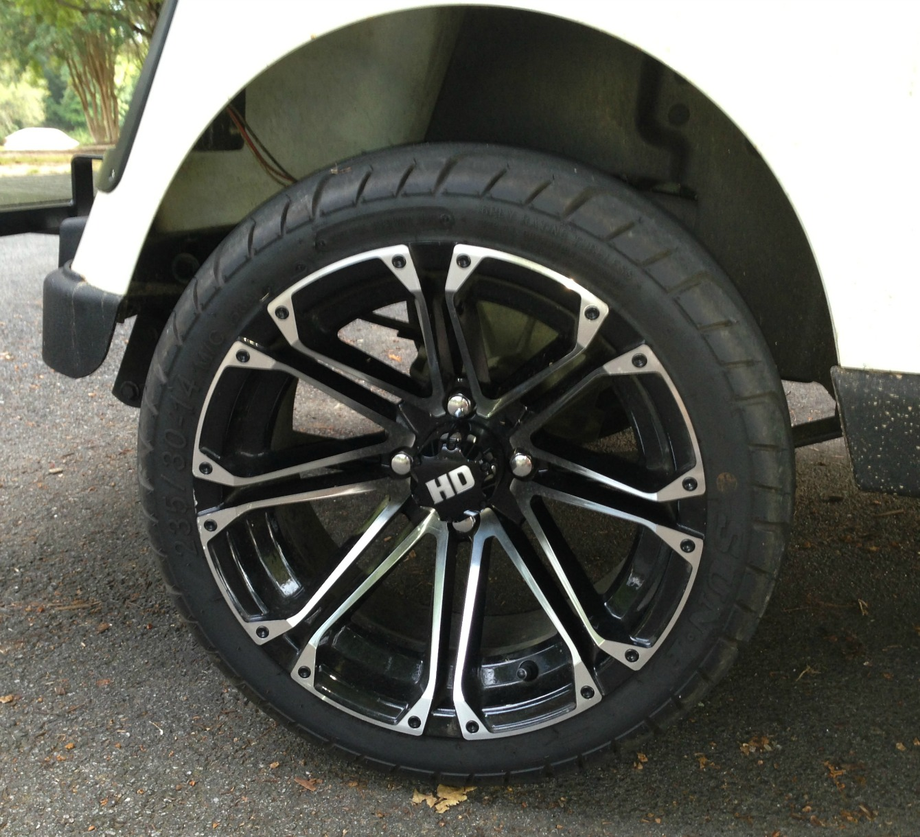 low profile golf cart tire