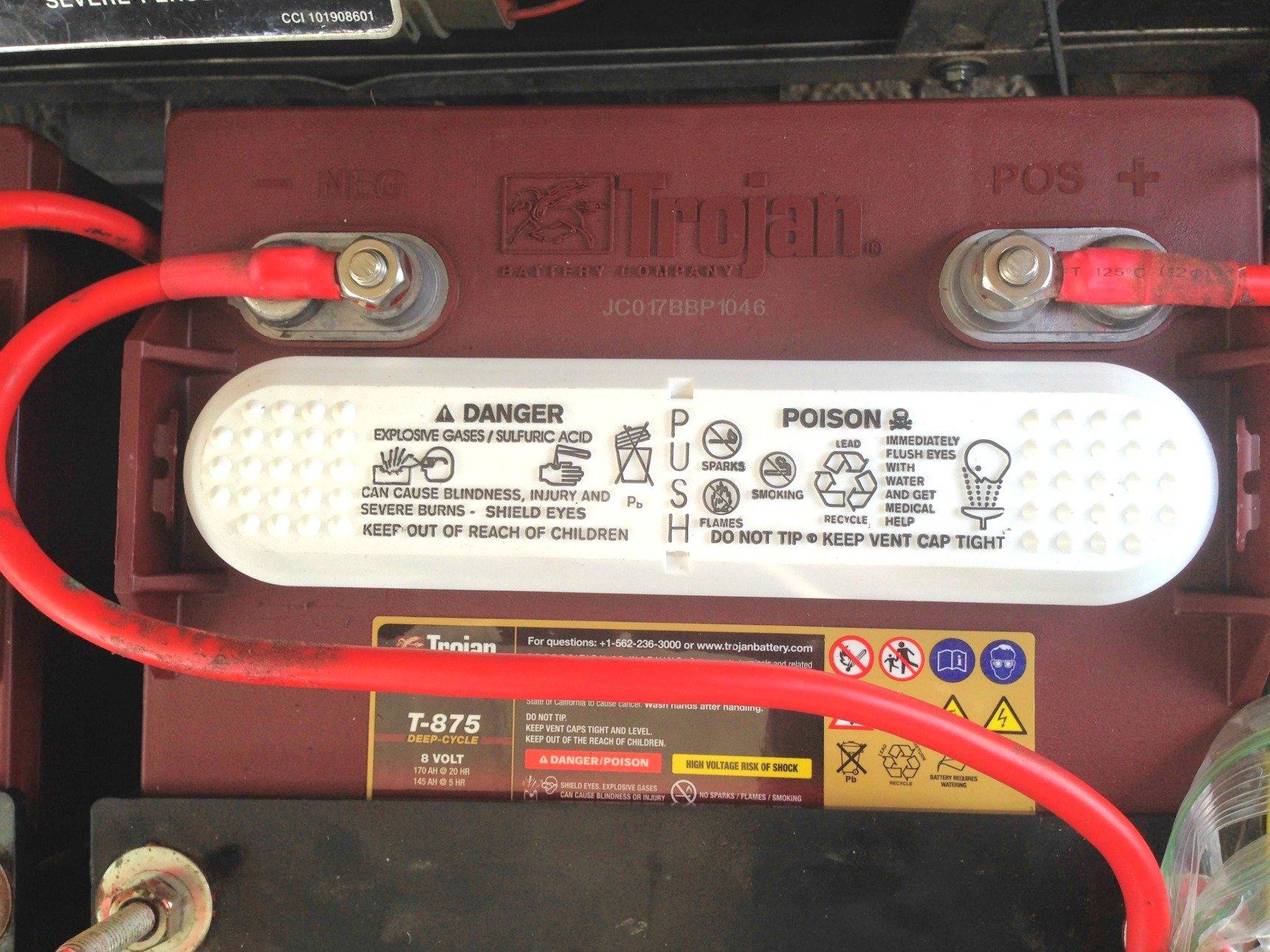 trojan golf cart batteries
