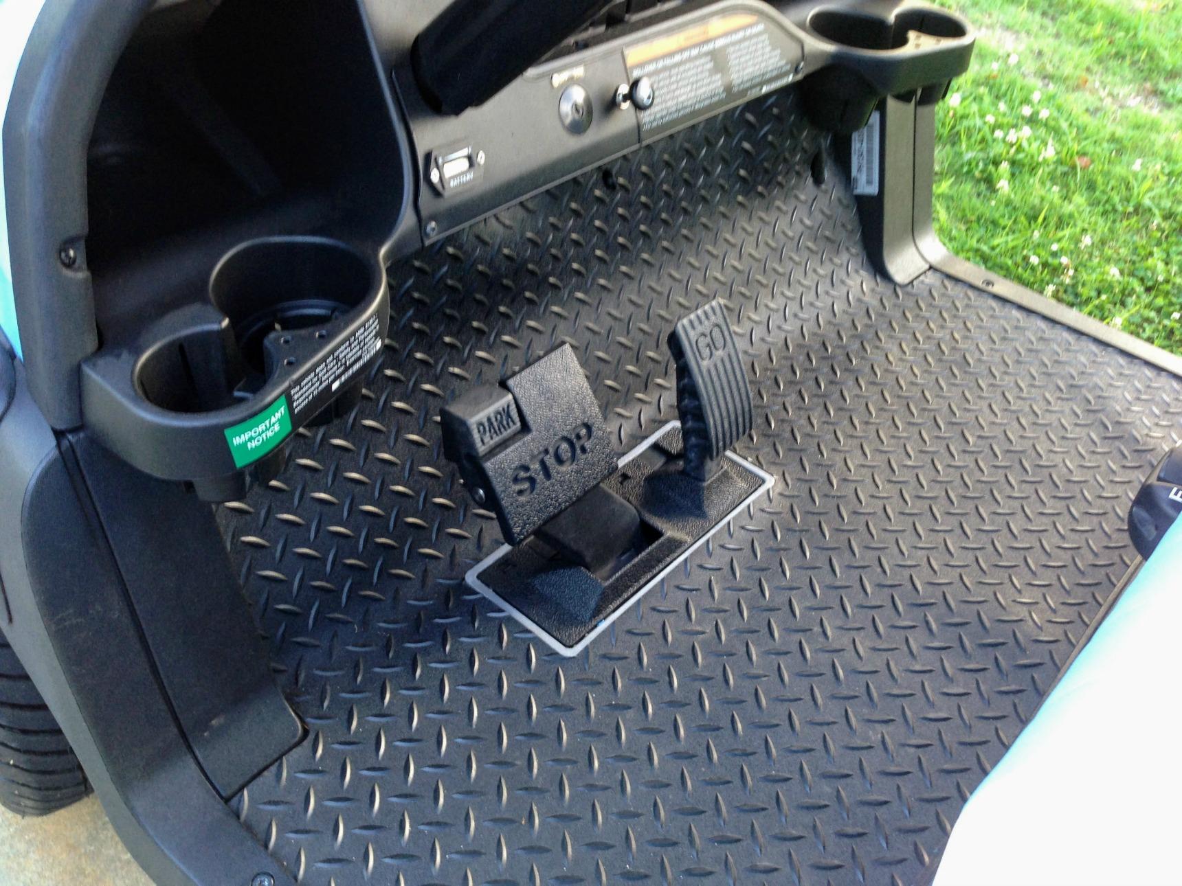 rubber golf cart floor mats