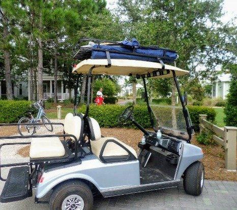 golf cart roof rack