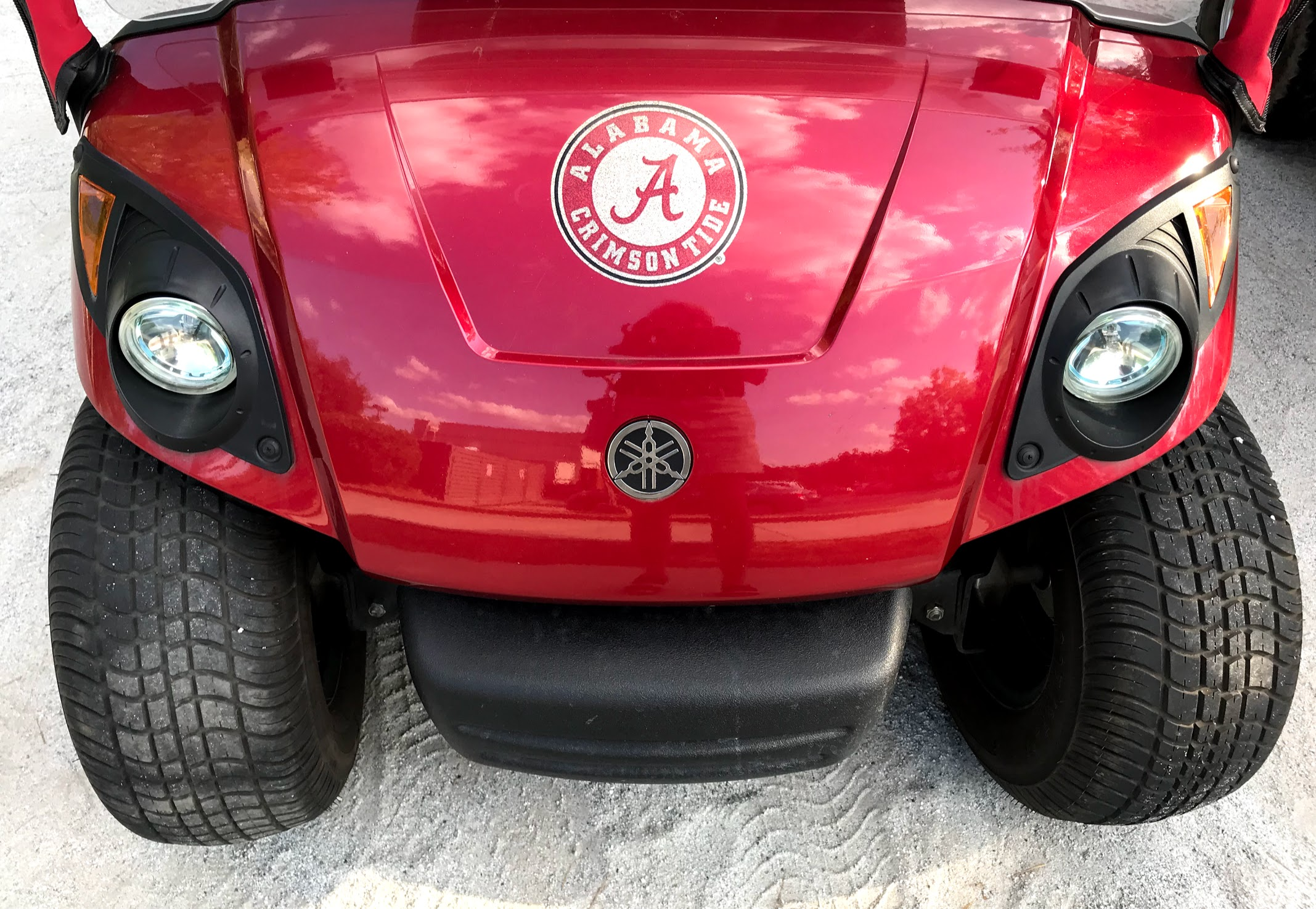 golf cart alabama decals