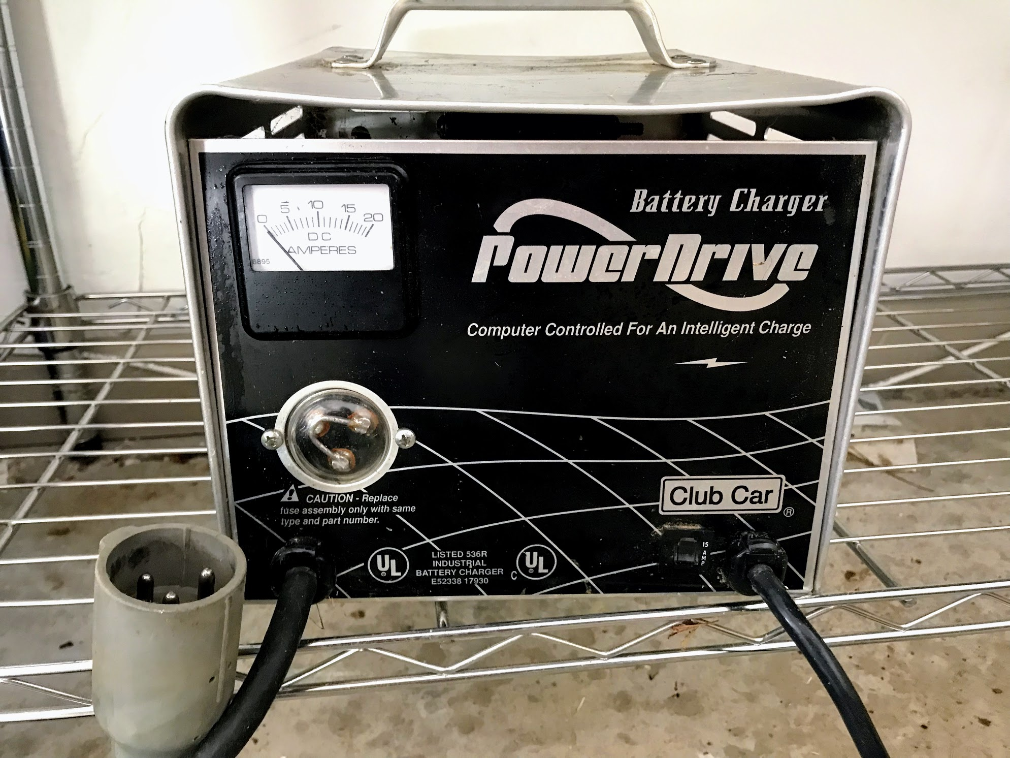golf cart batteries not charging