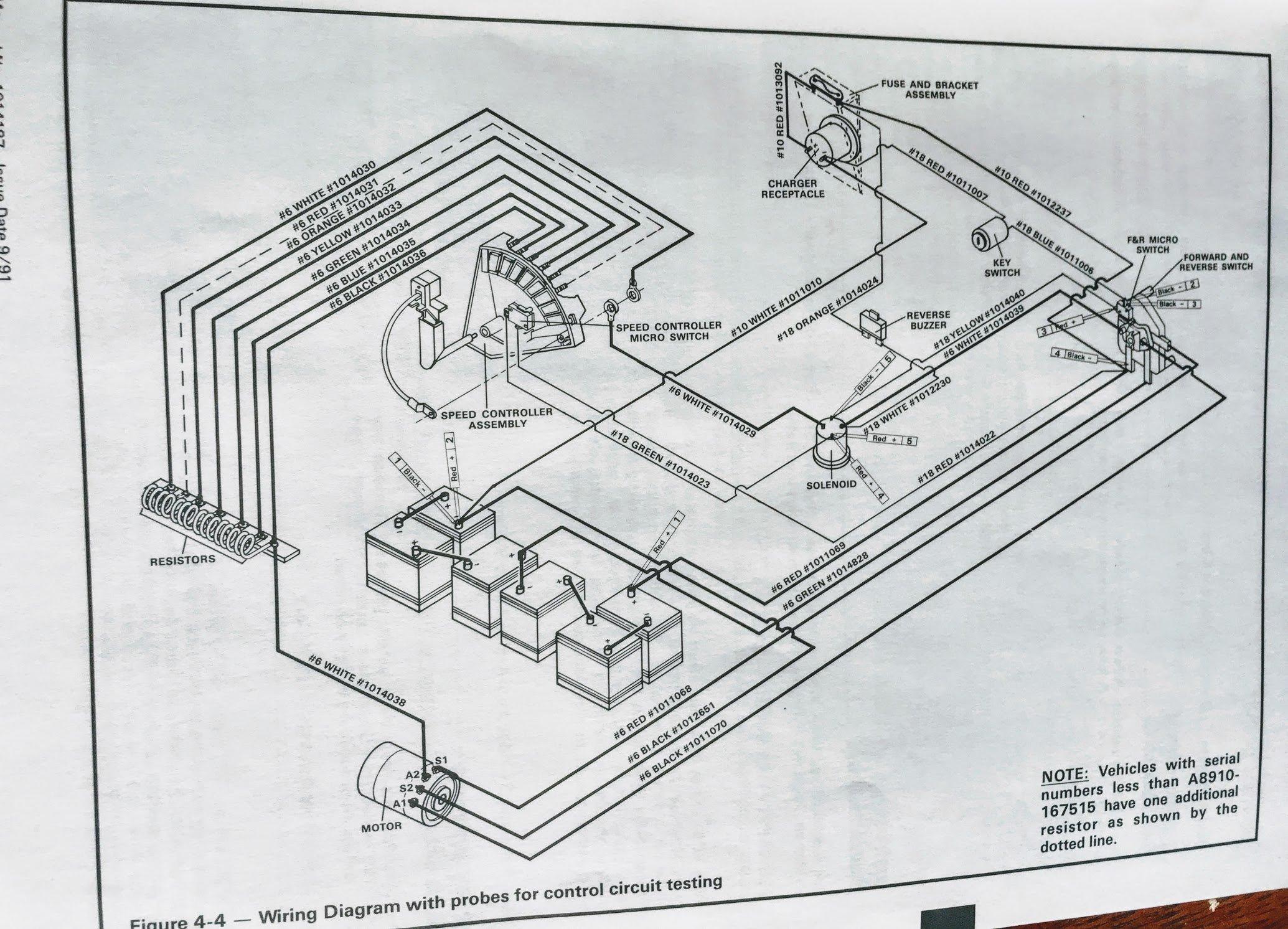 club car wiring diagram