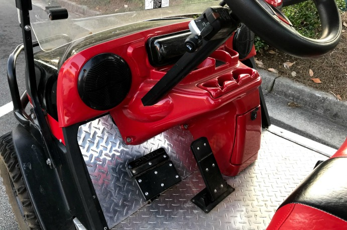 custom golf cart accessories