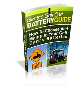 golf cart battery information