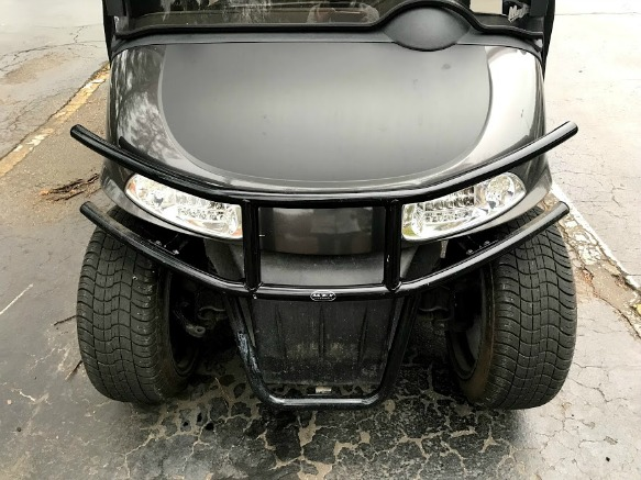 customize your golf cart body with a brush guard