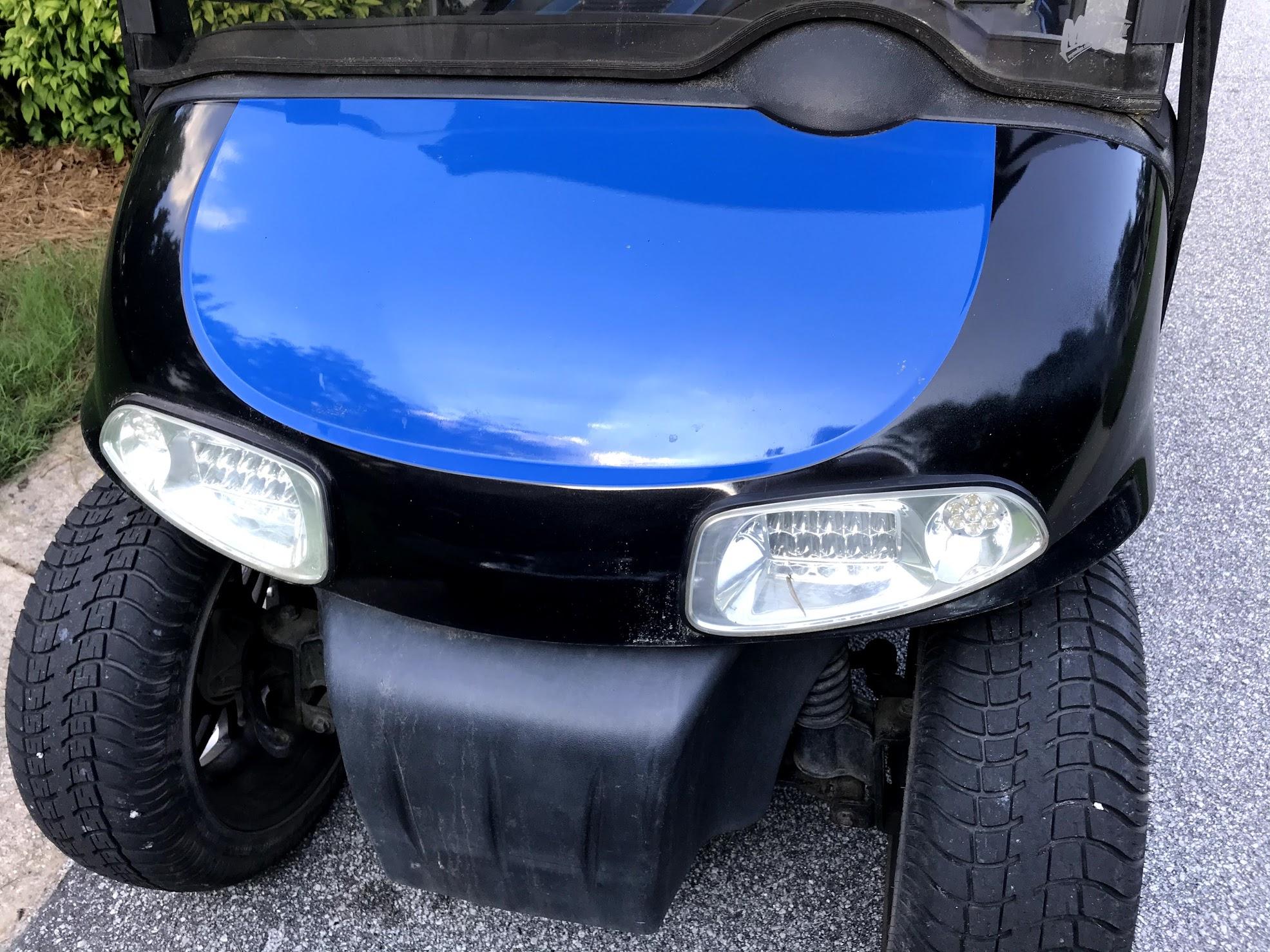 golf cart body paint ideas