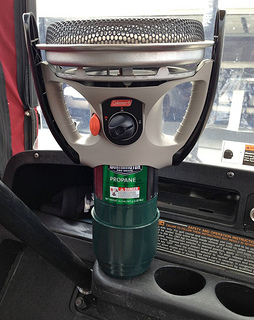 coleman golf cart heaters