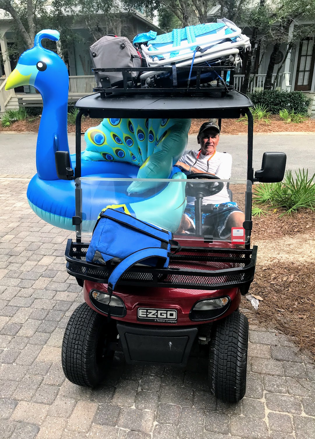 golf cart accessory for hauling