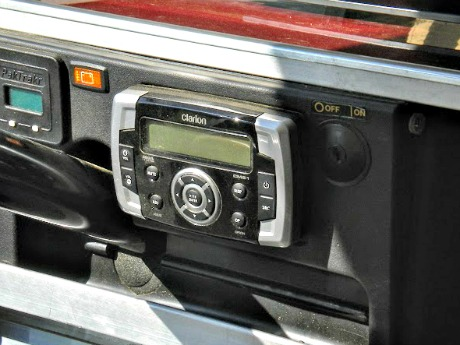 golf cart radios
