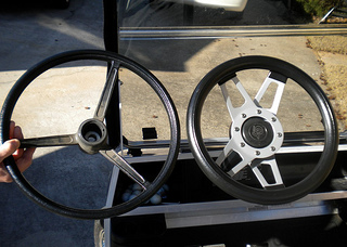 golf cart steering wheel