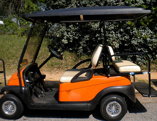 golf cart tops