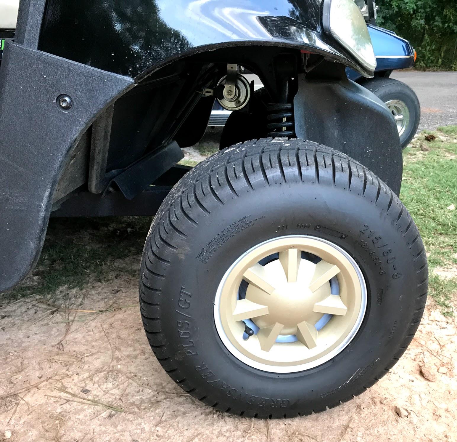 golf cart wheel covers and golf cart hub caps