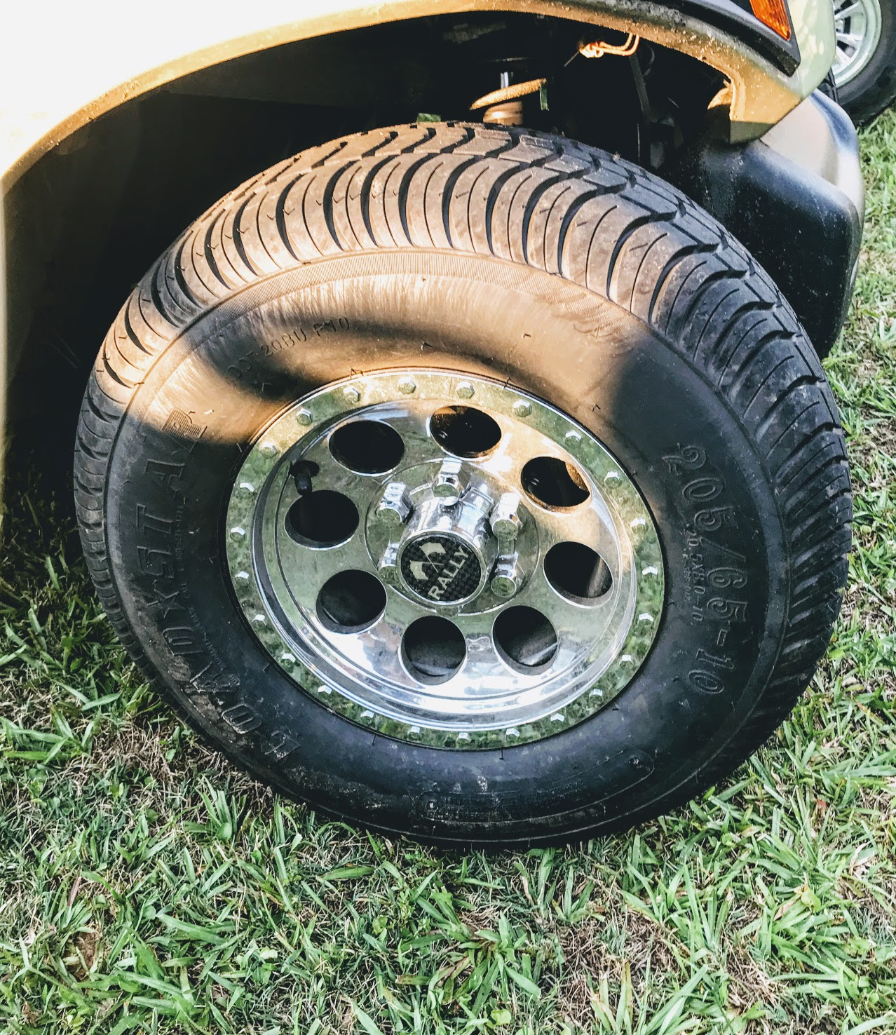 golf cart wheel covers