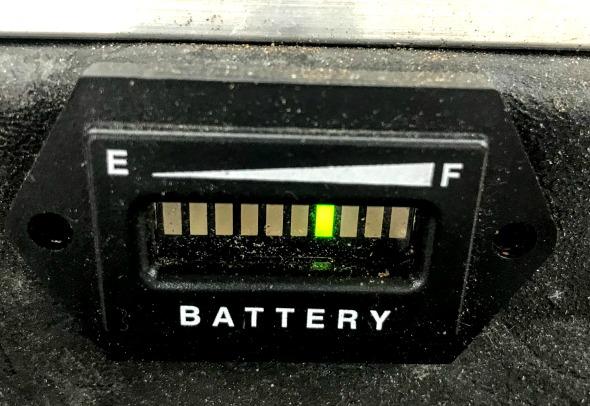 correct golf cart battery charging