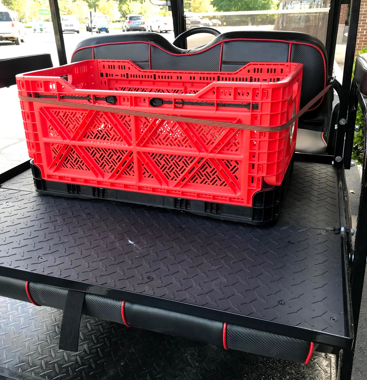 diy golf cart cargo box